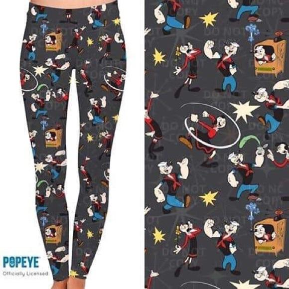 Popeye Leggings